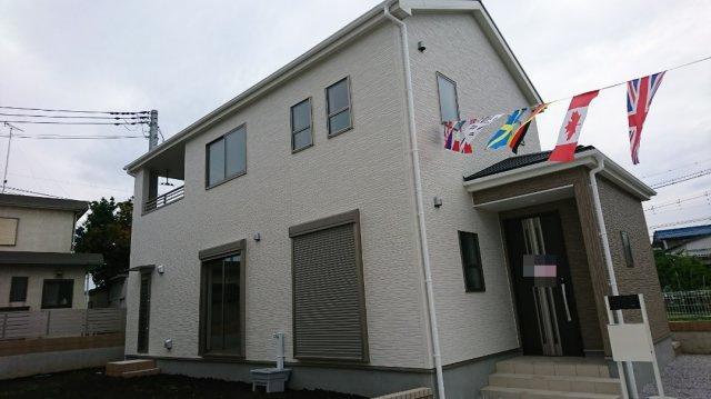 【外観:施工例】高崎市三ツ寺町新築住宅