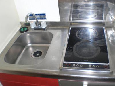 【キッチン】レオパレスCrest