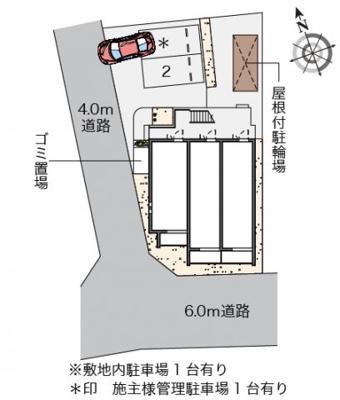 【地図】クレイノ黄金屋Ⅲ