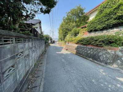 【前面道路含む現地写真】八女市吉田田字甚三谷