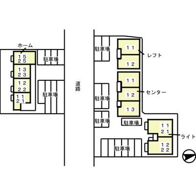 【区画図】パークコート レフト