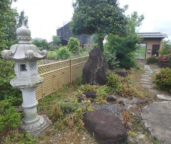 【庭】筑西市横塚 中古戸建