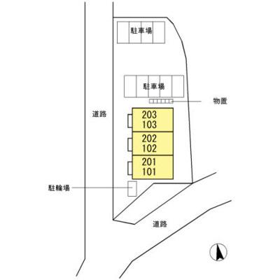 【区画図】プランドール