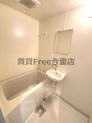 【浴室】ラ・リビエール 仲介手数料無料