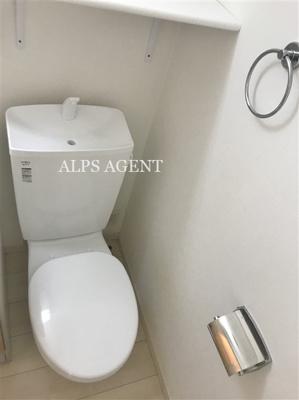 【トイレ】ハーミットクラブハウス山手本郷町