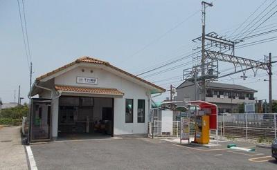 近鉄名古屋線千代崎駅まで1353m