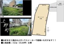 茨木市上野町 売土地の画像