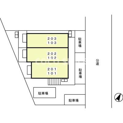 【区画図】セジュール光ヶ丘