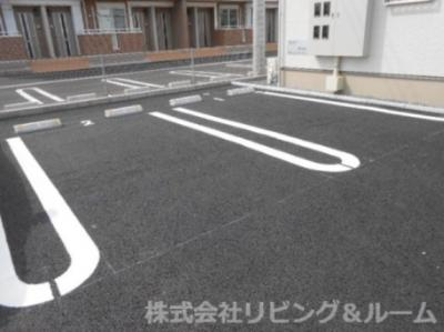 【駐車場】レジデンス オオギⅤ
