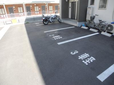 【駐車場】サンロイヤル西北Ⅱ