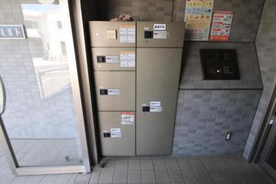 オートロック!宅配BOXもありますよ