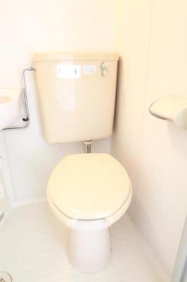 きれいなトイレです!