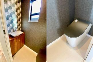 ※モデルハウス建築施工例 タンクレストイレ標準採用