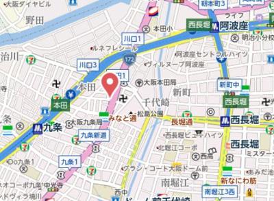 【地図】レジュールアッシュウエストレジス
