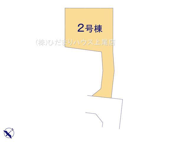 【区画図】上尾市平塚 2期 新築一戸建て リーブルガーデン 02