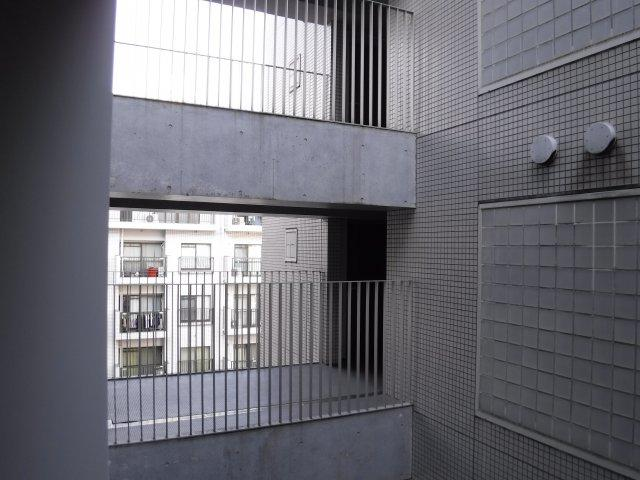 プライベート空間が守られる眺望です。