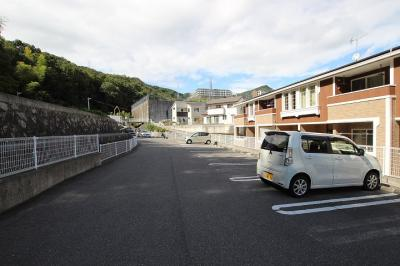 【駐車場】レジデンス ブライト B
