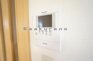 快適な暮らしを守るTVモニター付※写真は同建物・同タイプ。
