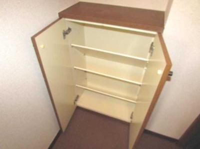 【収納】ローズマリー オートロック バストイレ別 室内洗濯機置場
