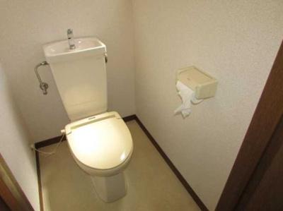 【トイレ】ローズマリー オートロック バストイレ別 室内洗濯機置場