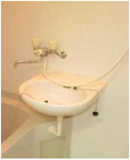 【洗面所】ローズマリー オートロック バストイレ別 室内洗濯機置場
