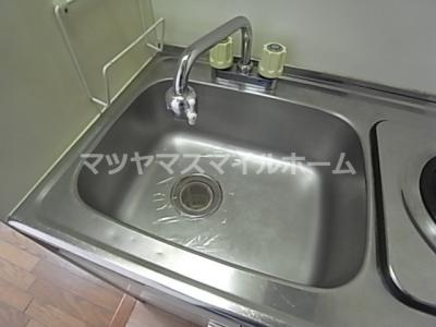 【キッチン】ローズマンションⅡ