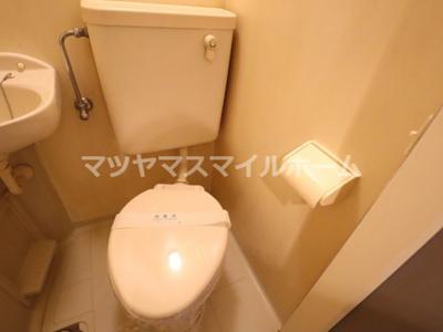 【トイレ】ローズマンションⅡ