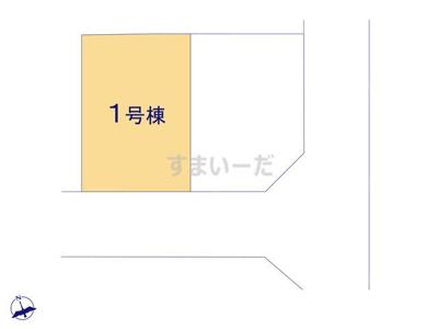 【区画図】グラファーレ姫路市飾東町佐良和