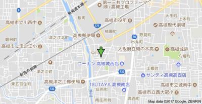 【地図】春日丘ハイツB棟 (株)Roots