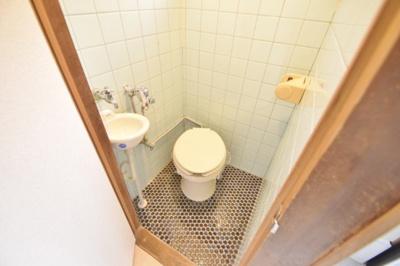 【トイレ】高見の里6丁目テラスハウス