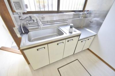 【キッチン】高見の里6丁目テラスハウス
