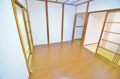 【洋室】高見の里6丁目テラスハウス