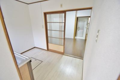 【居間・リビング】高見の里6丁目テラスハウス