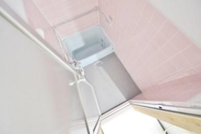 【浴室】高見の里6丁目テラスハウス