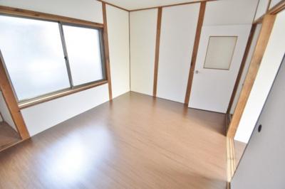 【寝室】高見の里6丁目テラスハウス