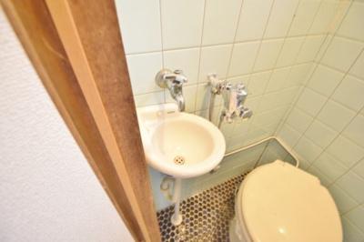 【洗面所】高見の里6丁目テラスハウス