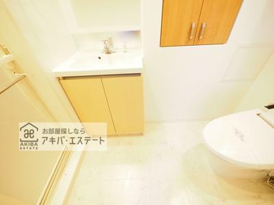 【洗面所】スパシエジーベック亀戸