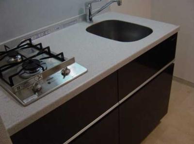 【キッチン】アーバイル三軒茶屋 駅近 独立洗面台 オートロック