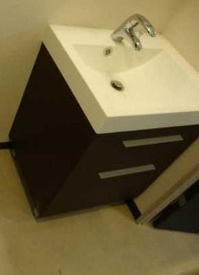 【洗面所】アーバイル三軒茶屋 駅近 独立洗面台 オートロック