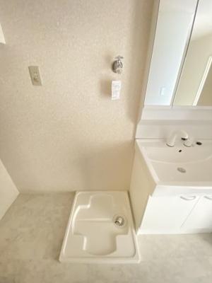 室内洗濯スペースです。