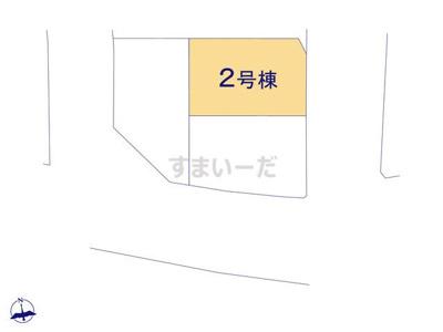 【区画図】リナージュ交野市幾野20-3期