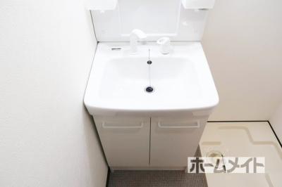 【独立洗面台】マンション栄光