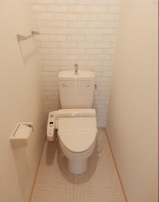 【トイレ】ロイヤルコートC棟
