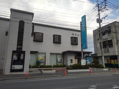 福岡銀行花畑支店まで120m