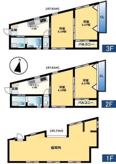 稲城市矢野口の一棟売りアパート