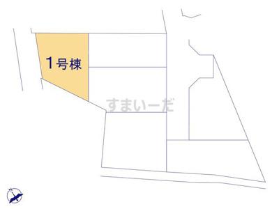 【区画図】クレイドルガーデン枚方市星丘第7