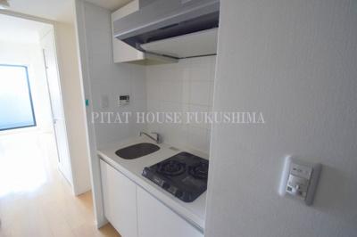 【キッチン】W-STYLE福島Ⅱウィステリア