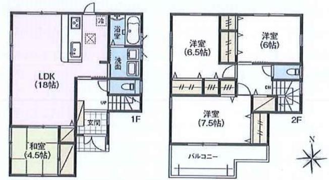 松戸市第3常盤平 全2棟