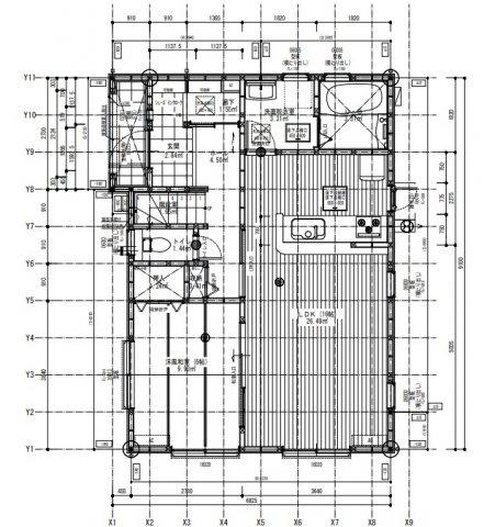 【完成予想図】リーブルガーデン東区西原第四 1号棟