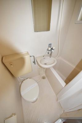 【浴室】第三若草ハイツ